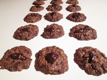 Šokolaaditükkidega kaeraküpsised